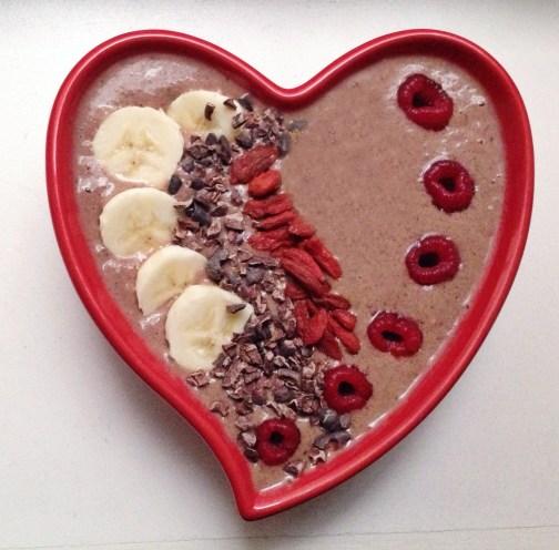 Chocolate Raspberry Love Smoothie Bowl | Breakfast Criminals
