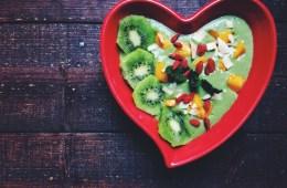 Heart Chakra Opening Mango, Coconut & Kale Smoothie Bowl
