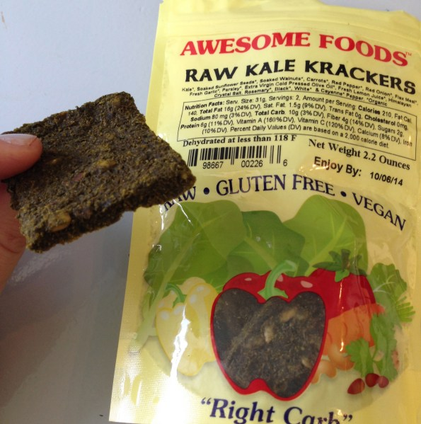 Awesome Food s Raw Kale Crackers