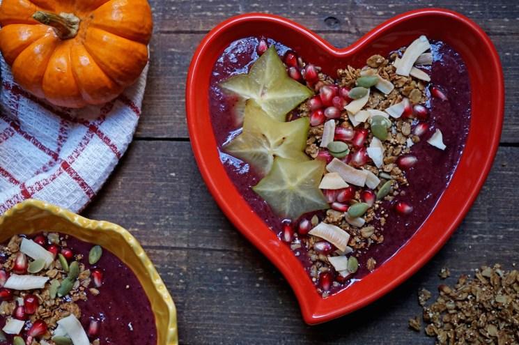 Pumpkin Pie Acai Bowl