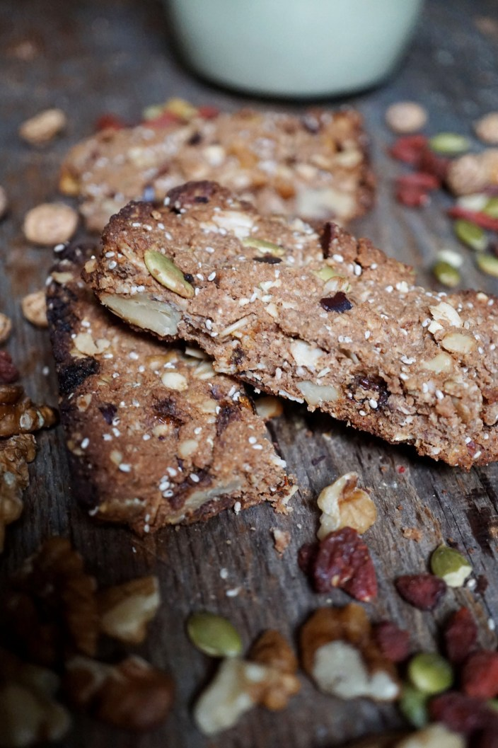 Salted Cacao Crunch Breakast Cookie Recipe