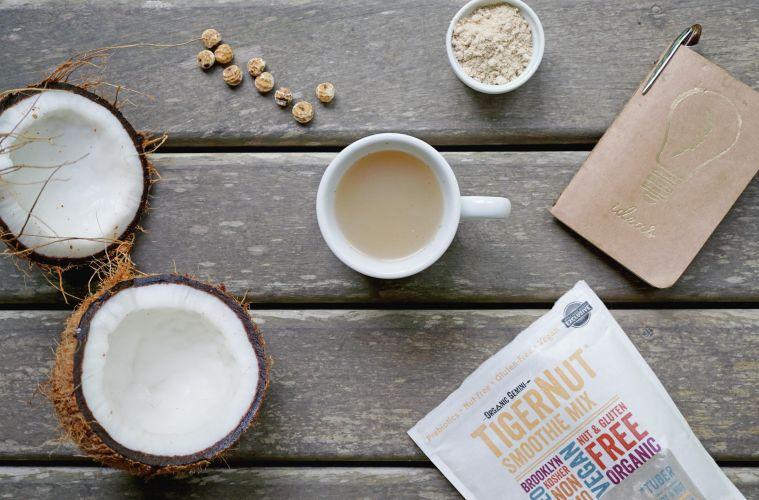 Tigernut hot drink mocha recipe