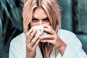 Fashion beauty skincare natural coffee