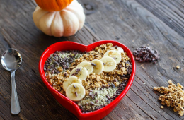 Pumpkin Acai Bowl Heart Bowl Breakfast Criminals