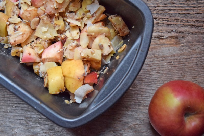 superfood paleo apple crisp recipe
