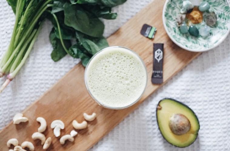Pique Tea Crystals Green Tea Smoothie Recipe