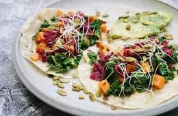 Paleo Fall Tacos recipe with Gourmet Garden