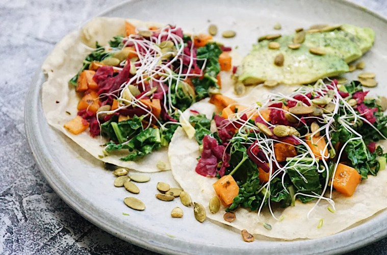 Paleo Fall Tacos recipe with Gourmet Garden
