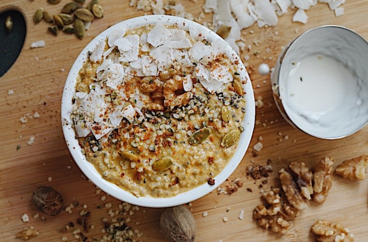 Paleo Pumpkin Spice Porridge Grain Free Recipe