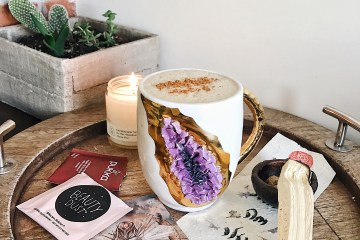 Self care crystal mug