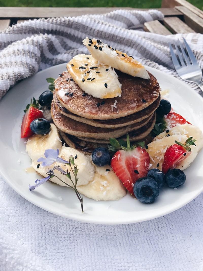 Super Simple Buckwheat Pancakes Recipe