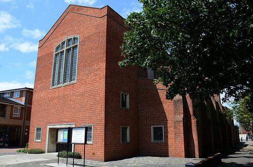 The exterior of St. Margaret's Church, Eastney, Portsmouth