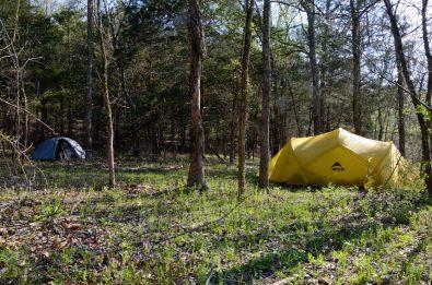 Piney Creek Wilderness campsite (2012)