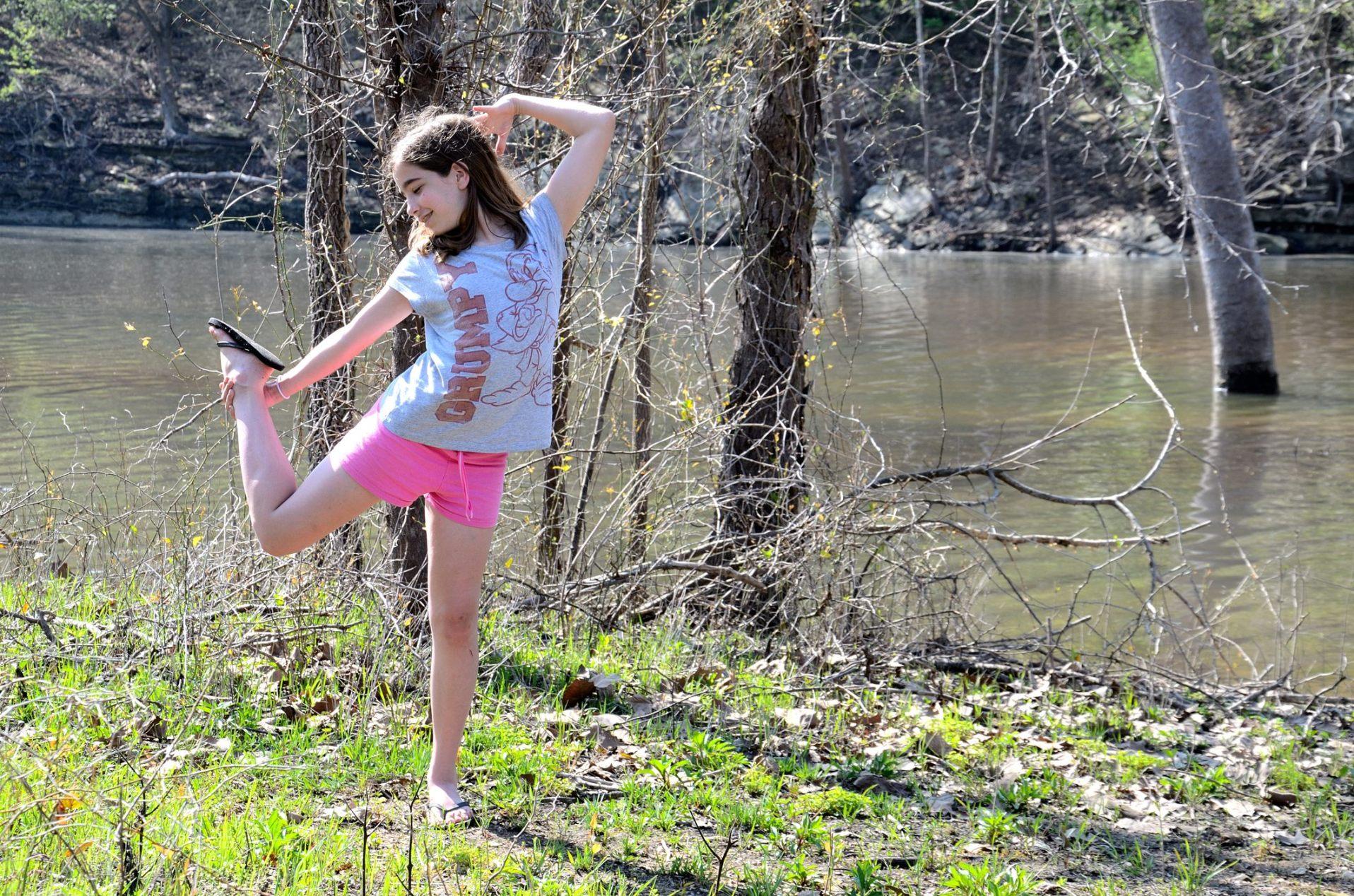 Lanie being Lanie by Piney Creek