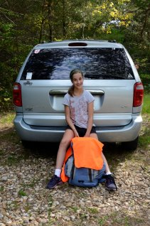 Lanie - second backpacking trip all done