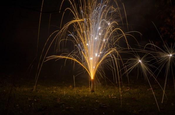 Fireworks Bonfire Night 2014. Copyright © 2014 Gary Allman, all rights reserved.