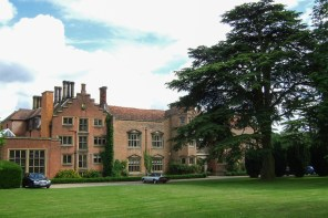 I joined the Hadham Hall School in September 1967. The large set of windows on the left belonged to my first classroom.