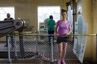 Lanie at the Beam Engine House June 29, 2014   Copyright © 2014 Gary Allman, all rights reserved   www.breakfastinamerica.me/tagged/uk-2014/