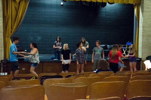 Open House - Rehearsal - Clue The Musical