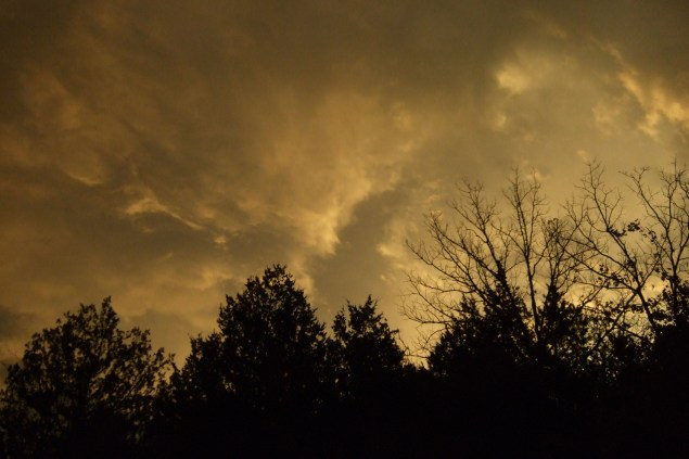 Storm Clouds. Copyright © 2010 Gary Allman, all rights reserved.