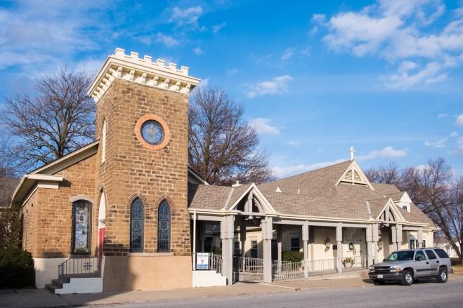 All Saints' Episcopal Church, Nevada, Missouri
