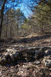Climbing up the Silver / Yellow Trail at Busiek. Copyright © 2018 Gary Allman, all rights reserved.
