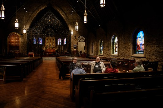 Interior view of Grace and Holy Trinity Cathedral, Kansas City, Missouri