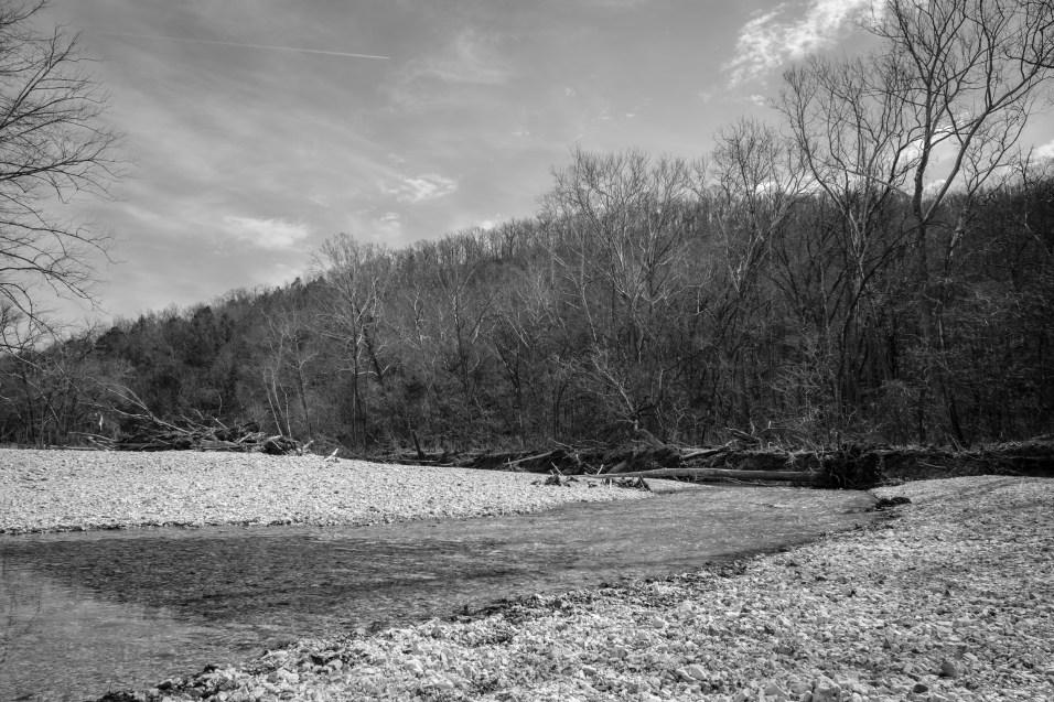 Ridge above Woods Fork, Busiek. Copyright © 2018 Gary Allman, all rights reserved.