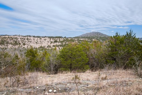 Brushy Creek is on the other side of that ridge.