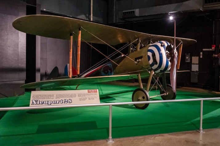 Nieuport N.28C-1 (Reproduction) at the National Museum of the US Air Force.