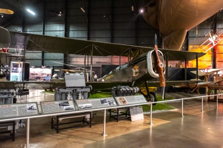 De Havilland DH-4 at the National Museum of the US Air Force.