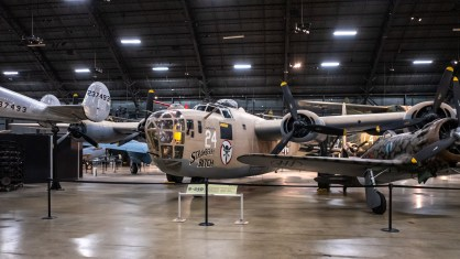 Consolidated B-24D Liberator at the National Museum of the US Air Force.