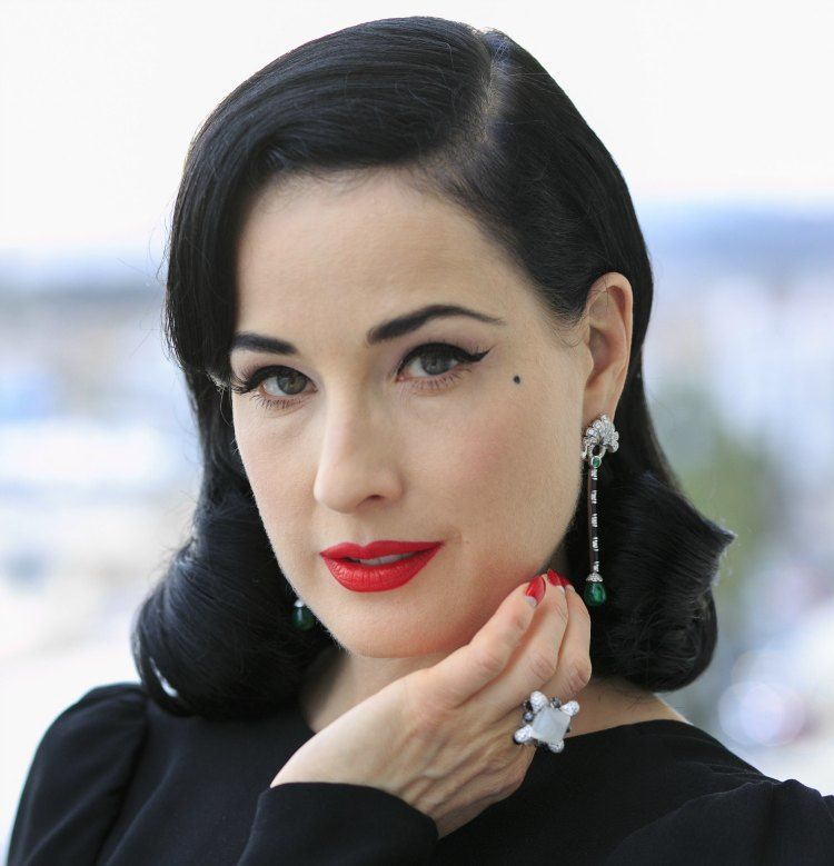 celebrity beauty secrets Dita-Von-Teese