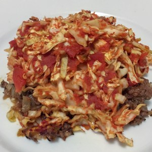Image of Lamb and Cabbage Casserole