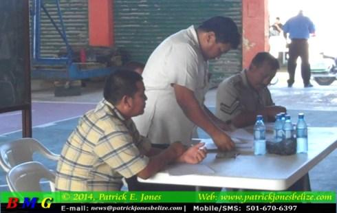 Traffic personnel (Corozal)