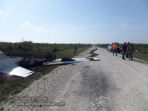 Illegal plane landing (Spanish Lookout)