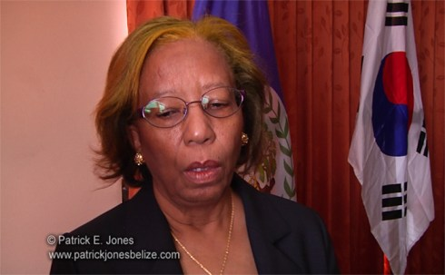 Senator Joy Grant (Minister of Science & Technology)