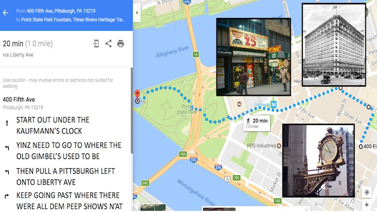 Google Maps Updates Pittsburgh Directions Algorithm To Use More ...