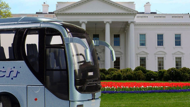 Second Bus Called To White House For Trump To Throw People