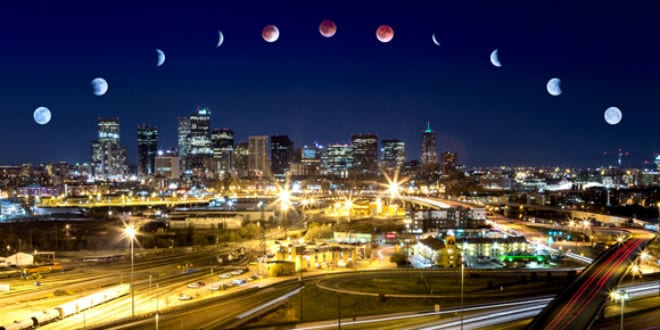 Cycle of the blood moon lunar eclipse. (Photo: Cass Letson/ Wiki Commons)