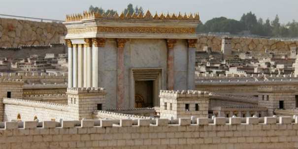A model of the second Holy Temple (Photo:Shutterstock.com)