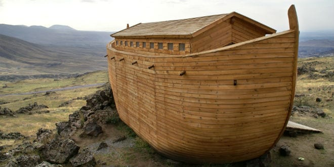 Illustrative: a replica of Noah's Ark. (Photo: Shutterstock.com)