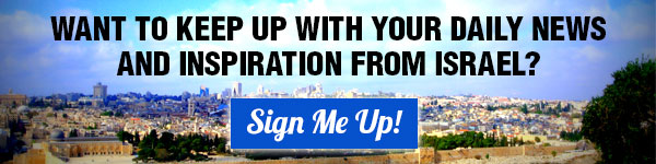 Want to know the daily news and inspiraiton from Israel?
