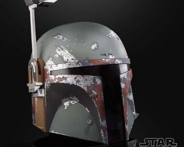 Hasbro's Star Wars Black Series Electronic Boba Fett Helmet Arrives Tonight