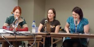 Lucy Hounsom, Charlotte Bond, Megan Leigh