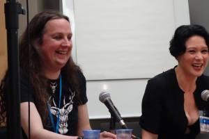 RJ Barker and Anna Smith Spark
