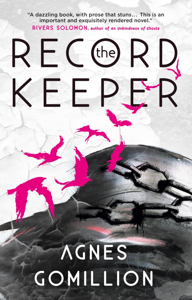 The Record Keeper (cover) by Agnes Gomillion