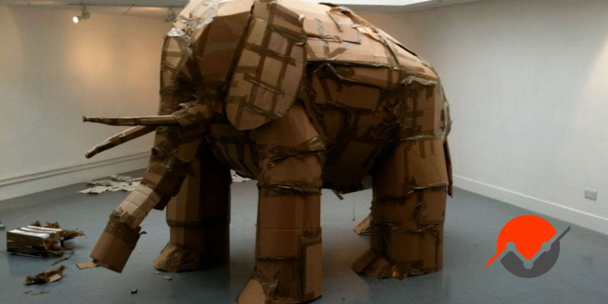 A picture of the elephant in the room, something you need to deal with when starting a video game studio