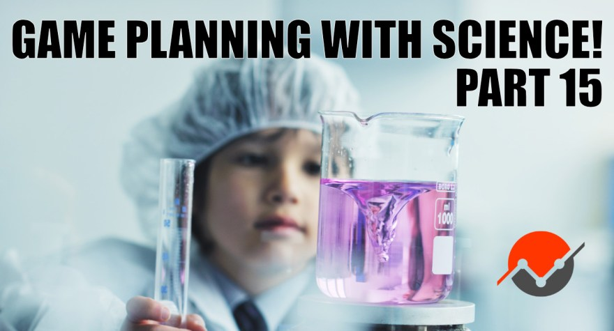 A scientist looks at some fluid in a beaker because root cause analysis