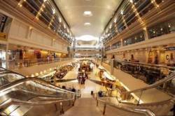 Dubai Airports in green focus